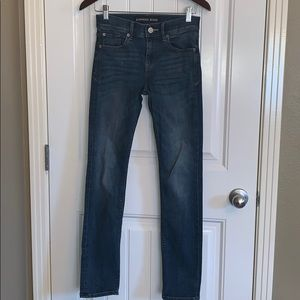 BOGO Express performance stretch skinny mid rise